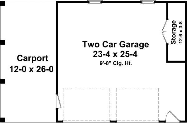 Home Plan - Traditional Floor Plan - Main Floor Plan #21-457