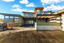Contemporary Exterior - Front Elevation Plan #892-30