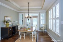 Architectural House Design - Ranch Interior - Dining Room Plan #929-1005