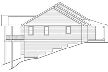 House Plan Design - Country Exterior - Other Elevation Plan #124-1013