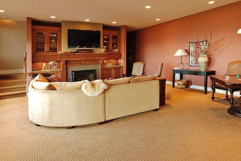 Craftsman Interior - Family Room Plan #124-753 - Houseplans.com
