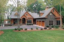 Craftsman Exterior - Front Elevation Plan #453-22