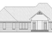 European Style House Plan - 3 Beds 2.5 Baths 2350 Sq/Ft Plan #21-223 Exterior - Rear Elevation