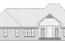 Home Plan - European Exterior - Rear Elevation Plan #21-223