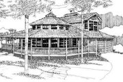 House Plan - 4 Beds 2.5 Baths 2312 Sq/Ft Plan #303-430 Exterior - Front Elevation