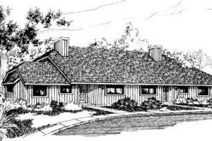 Traditional Exterior - Front Elevation Plan #303-245