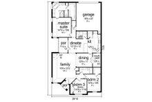 Traditional Floor Plan - Main Floor Plan Plan #84-587