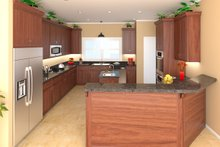 Craftsman Interior - Kitchen Plan #21-308