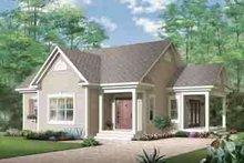 House Design - Cottage Exterior - Front Elevation Plan #23-616