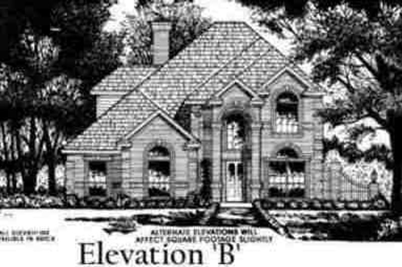European Exterior - Other Elevation Plan #40-256 - Houseplans.com