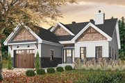 Craftsman Style House Plan - 2 Beds 2 Baths 1441 Sq/Ft Plan #23-2692