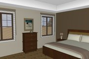 Craftsman Style House Plan - 3 Beds 2 Baths 1678 Sq/Ft Plan #126-182 Interior - Master Bedroom