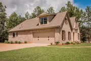 European Style House Plan - 4 Beds 2.5 Baths 2399 Sq/Ft Plan #430-142 Exterior - Other Elevation