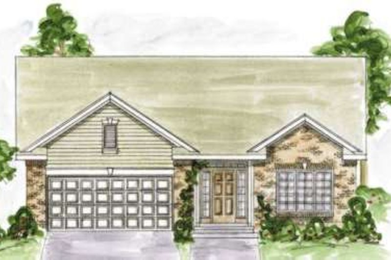 Traditional Exterior - Front Elevation Plan #20-1616