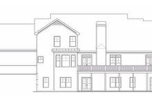 Craftsman Exterior - Rear Elevation Plan #419-143