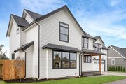 Farmhouse Style House Plan - 3 Beds 2.5 Baths 1840 Sq/Ft Plan #1070-1 Exterior - Front Elevation