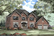 Home Plan - Traditional Exterior - Front Elevation Plan #17-411