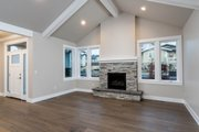 Craftsman Style House Plan - 3 Beds 2 Baths 1939 Sq/Ft Plan #895-82 Interior - Family Room