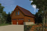 Farmhouse Style House Plan - 0 Beds 0.5 Baths 1728 Sq/Ft Plan #118-135 Exterior - Front Elevation