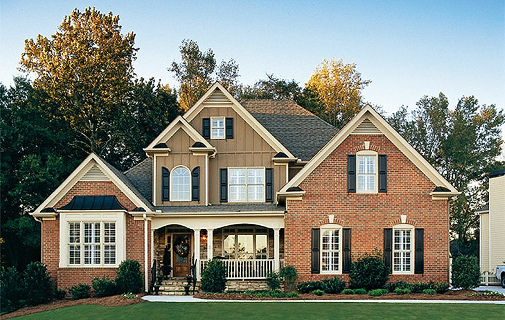 Country style house plan 3 beds 2 5 baths 2680 sq ft for Craftsman style homes for sale in nh