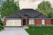 Dream House Plan - Traditional Exterior - Front Elevation Plan #84-120