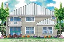 Prairie Exterior - Rear Elevation Plan #930-93