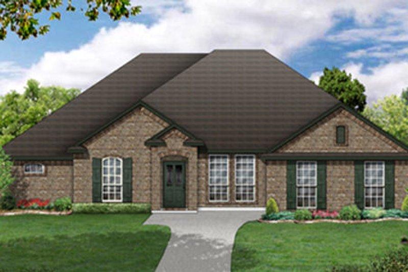 Dream House Plan - European Exterior - Front Elevation Plan #84-483