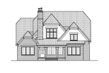 Home Plan - European Exterior - Rear Elevation Plan #413-829