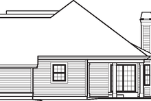 Dream House Plan - Traditional Exterior - Other Elevation Plan #57-584