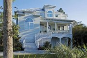 Southern Style House Plan - 3 Beds 3 Baths 2513 Sq/Ft Plan #930-123 Exterior - Front Elevation