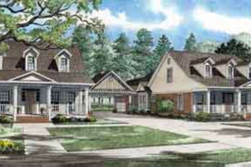 Home Plan - Country Exterior - Front Elevation Plan #17-2264