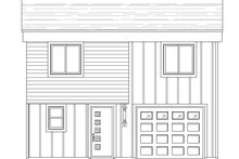 House Plan Design - Contemporary Exterior - Front Elevation Plan #932-181