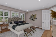 Architectural House Design - Ranch Interior - Master Bedroom Plan #1060-21