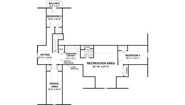 Traditional Floor Plan - Other Floor Plan #56-636