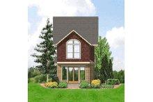 Craftsman Exterior - Rear Elevation Plan #48-376