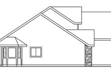 Traditional Exterior - Other Elevation Plan #124-602