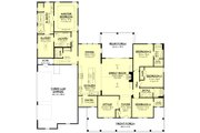 Farmhouse Style House Plan - 4 Beds 3.5 Baths 2926 Sq/Ft Plan #430-175 Floor Plan - Main Floor Plan