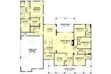 Farmhouse Floor Plan - Main Floor Plan Plan #430-175
