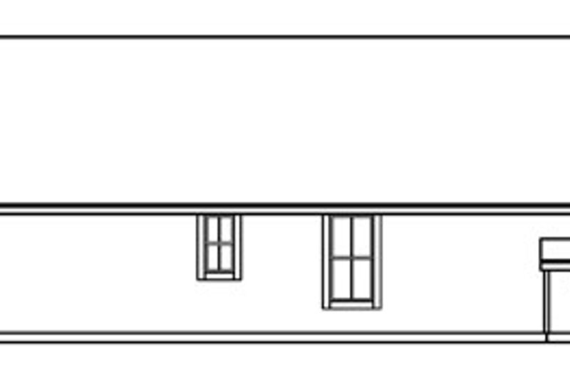 Ranch Exterior - Other Elevation Plan #124-720 - Houseplans.com