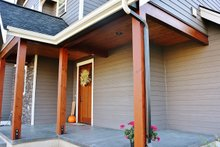 Craftsman Exterior - Covered Porch Plan #1070-13