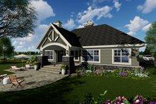 Craftsman Exterior - Rear Elevation Plan #51-552