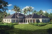 Bungalow Style House Plan - 3 Beds 3.5 Baths 3108 Sq/Ft Plan #930-19 Exterior - Other Elevation