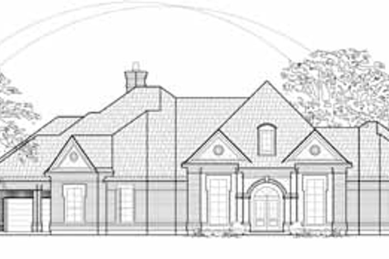 European Exterior - Front Elevation Plan #61-243 - Houseplans.com