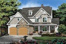 Cottage Exterior - Front Elevation Plan #929-1108