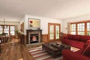 Farmhouse Style House Plan - 4 Beds 3.5 Baths 2992 Sq/Ft Plan #23-383 Interior - Family Room