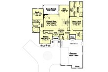 European Floor Plan - Main Floor Plan Plan #430-123
