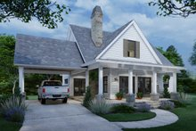 Dream House Plan - Cottage Exterior - Front Elevation Plan #120-273