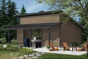 Modern Style House Plan - 0 Beds 0 Baths 576 Sq/Ft Plan #23-2675 Exterior - Other Elevation