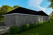 Ranch Style House Plan - 3 Beds 2 Baths 1927 Sq/Ft Plan #406-9655 Exterior - Other Elevation