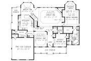 Southern Style House Plan - 4 Beds 3 Baths 2567 Sq/Ft Plan #456-4 Floor Plan - Main Floor Plan